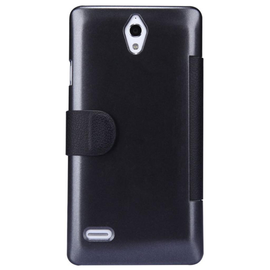 Чехол для моб. телефона NILLKIN для Huawei G700/Fresh/ Leather/Black (6076853) изображение 5