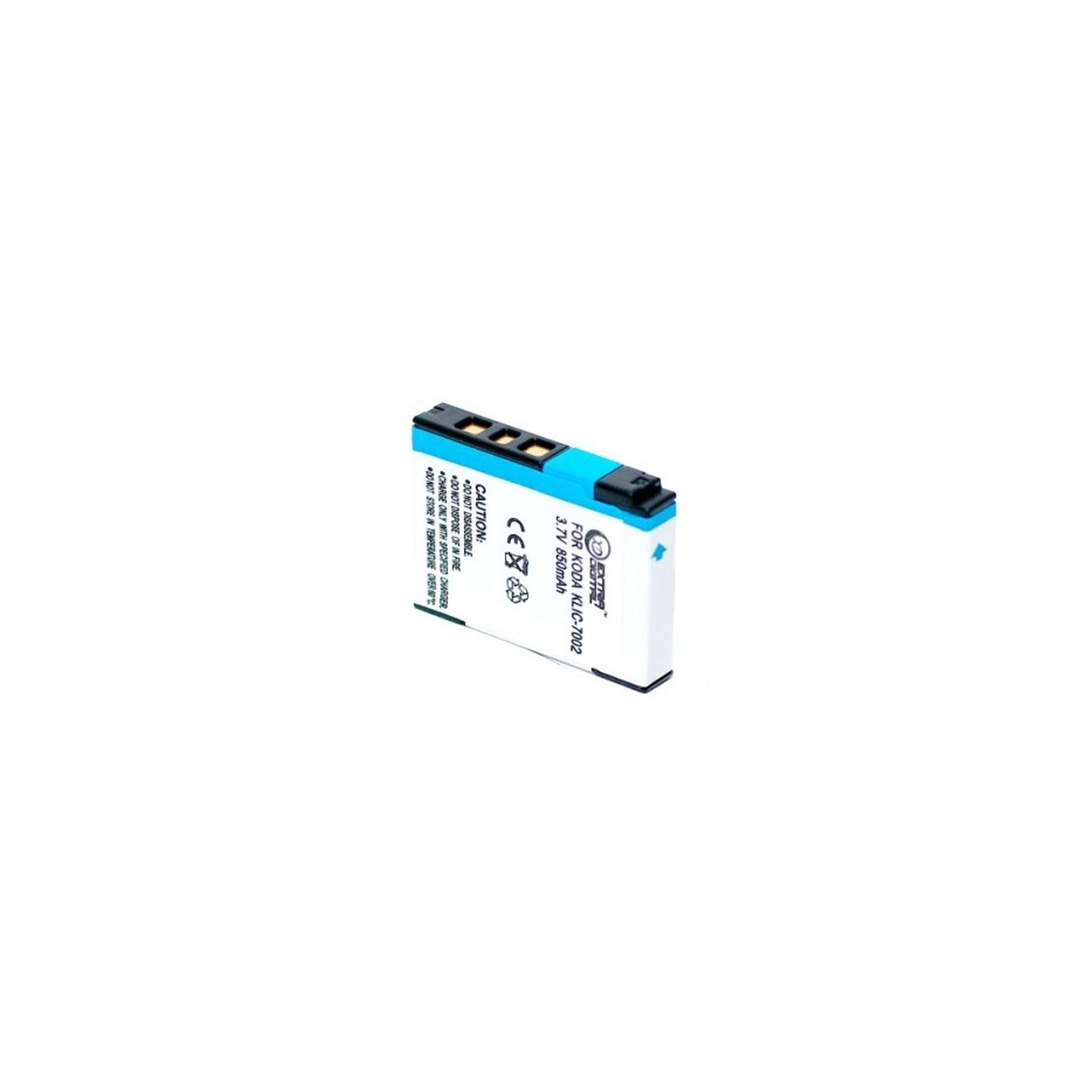 Аккумулятор к фото/видео EXTRADIGITAL Kodak KLIC-7002 (DV00DV1154) изображение 2