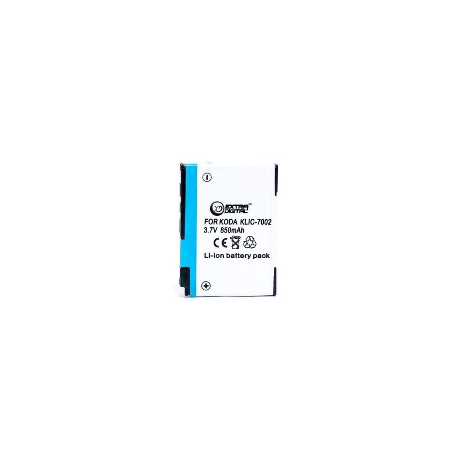 Аккумулятор к фото/видео EXTRADIGITAL Kodak KLIC-7002 (DV00DV1154)