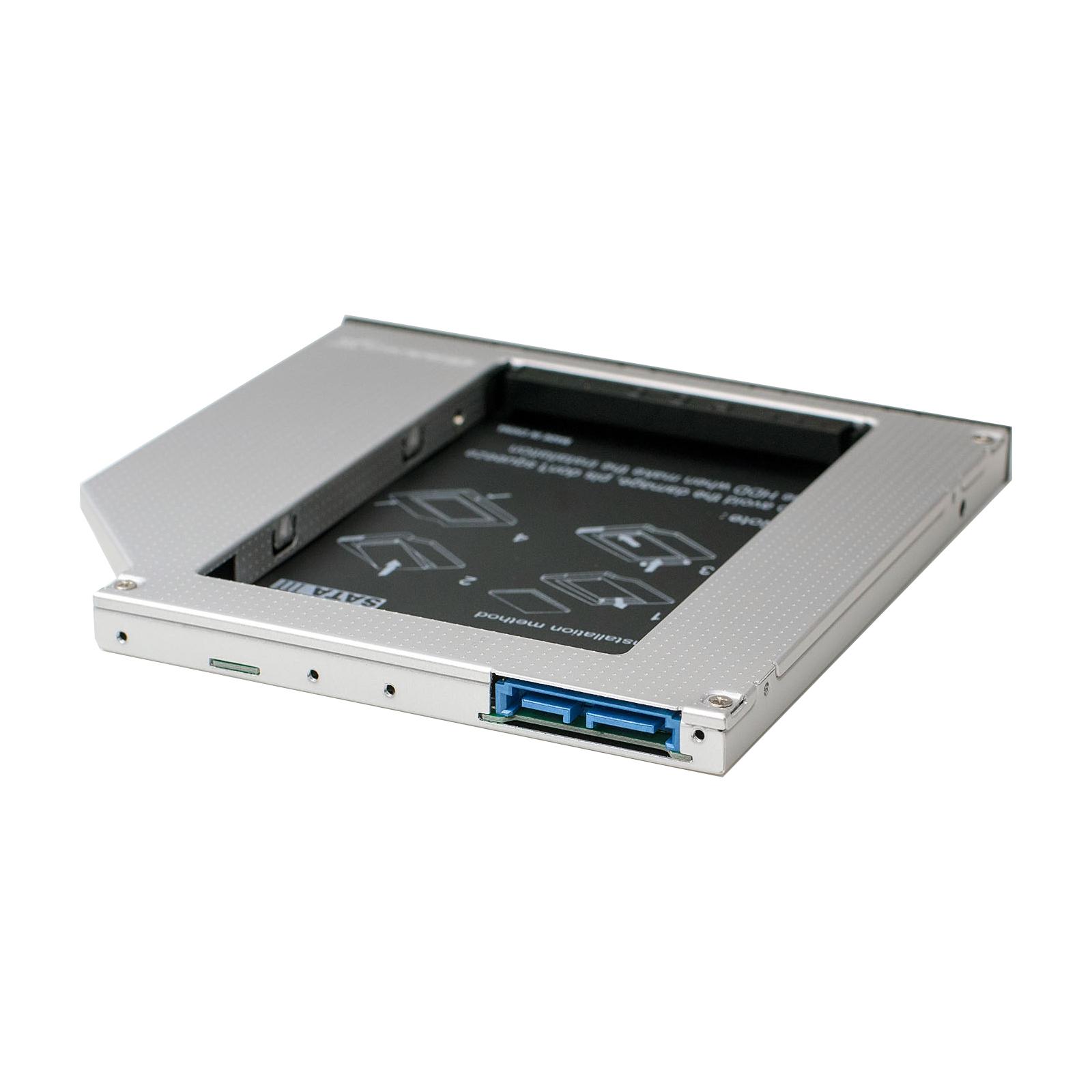 Фрейм-переходник Grand-X HDD 2.5'' to notebook 9.5 mm ODD SATA3 (HDC-26) изображение 2