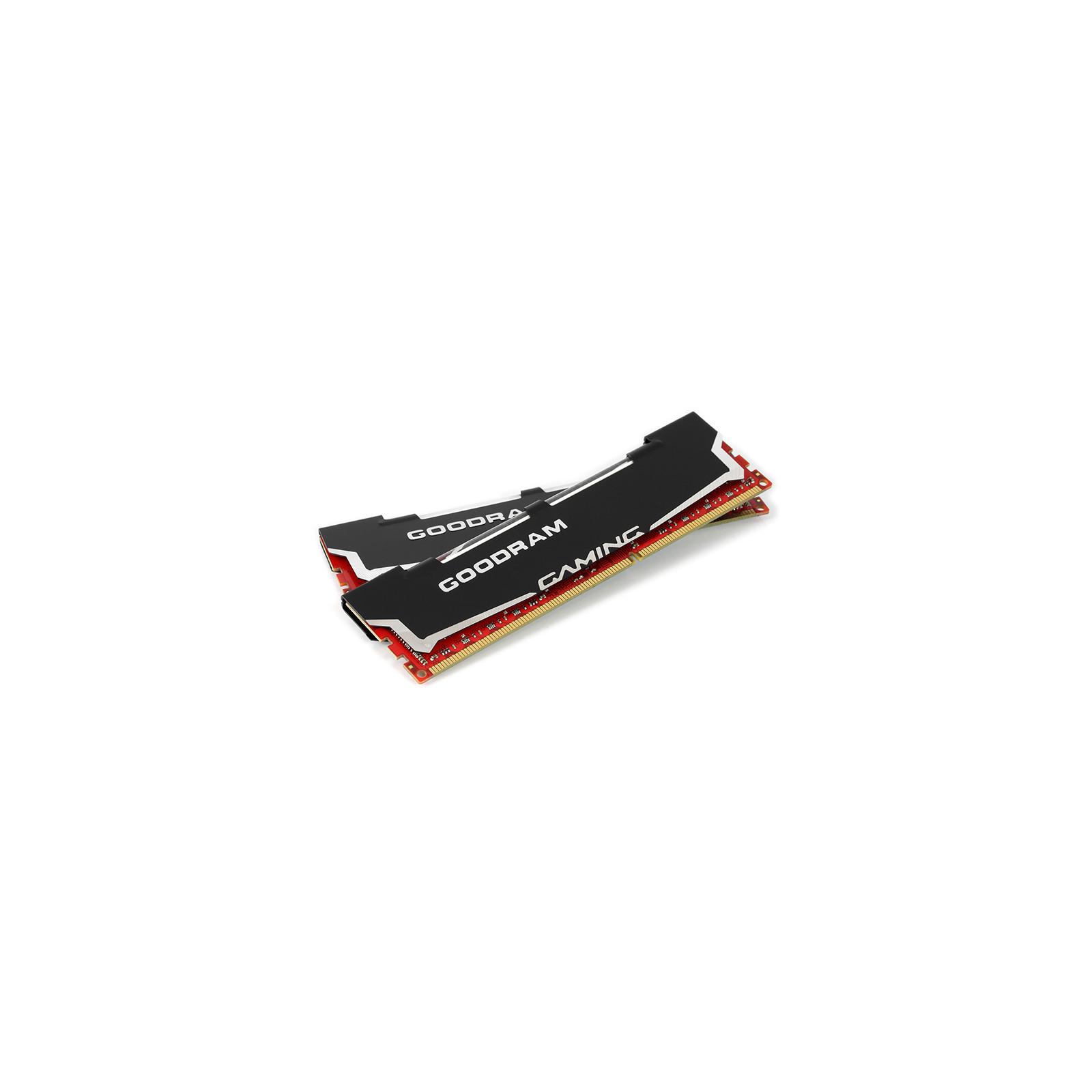 Модуль памяти для компьютера DDR3 8GB (2x4GB) 1600 MHz Led Gaming GOODRAM (GL1600D364L9S/8GDC) изображение 2