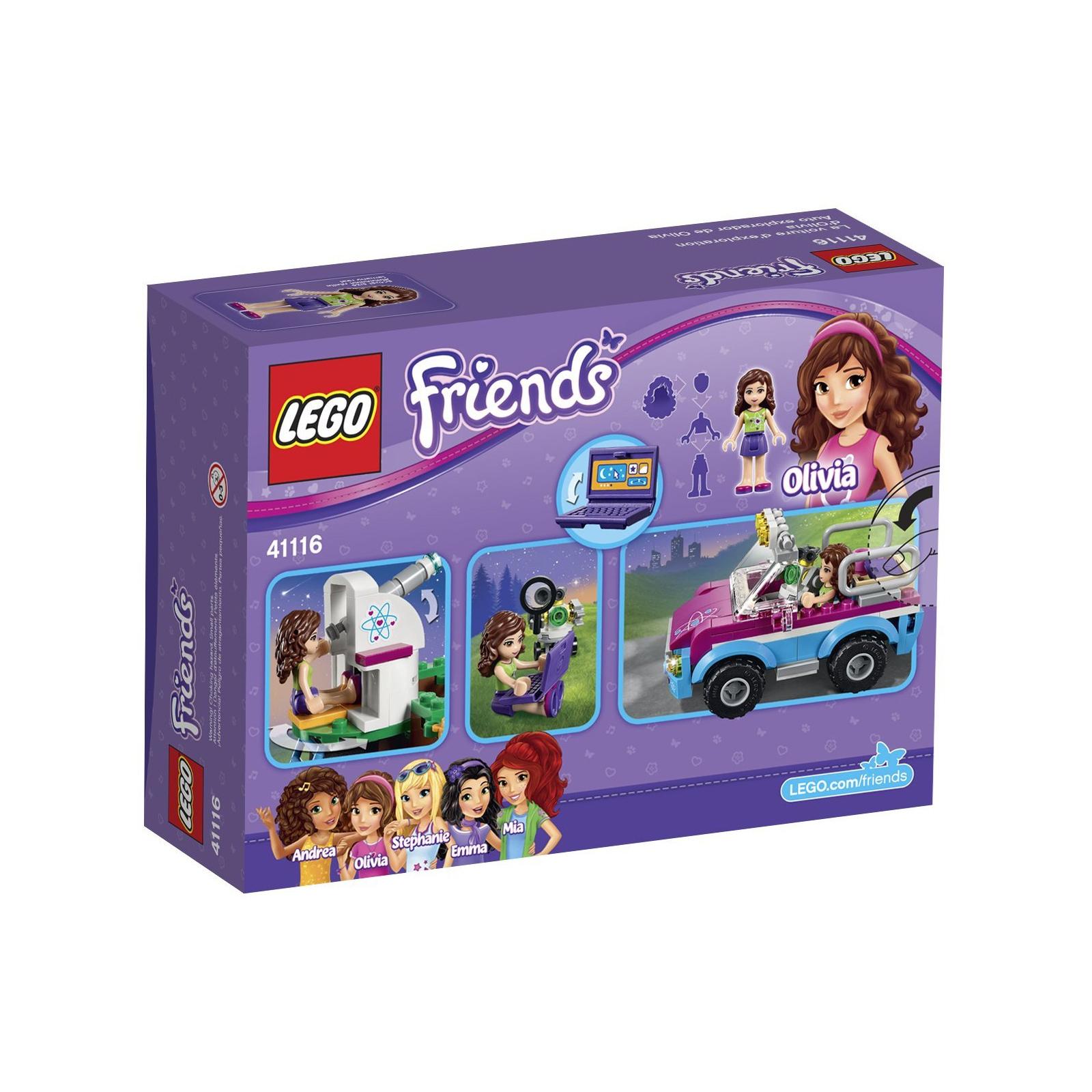 Конструктор LEGO Friends Звездное небо Оливии (41116) изображение 12