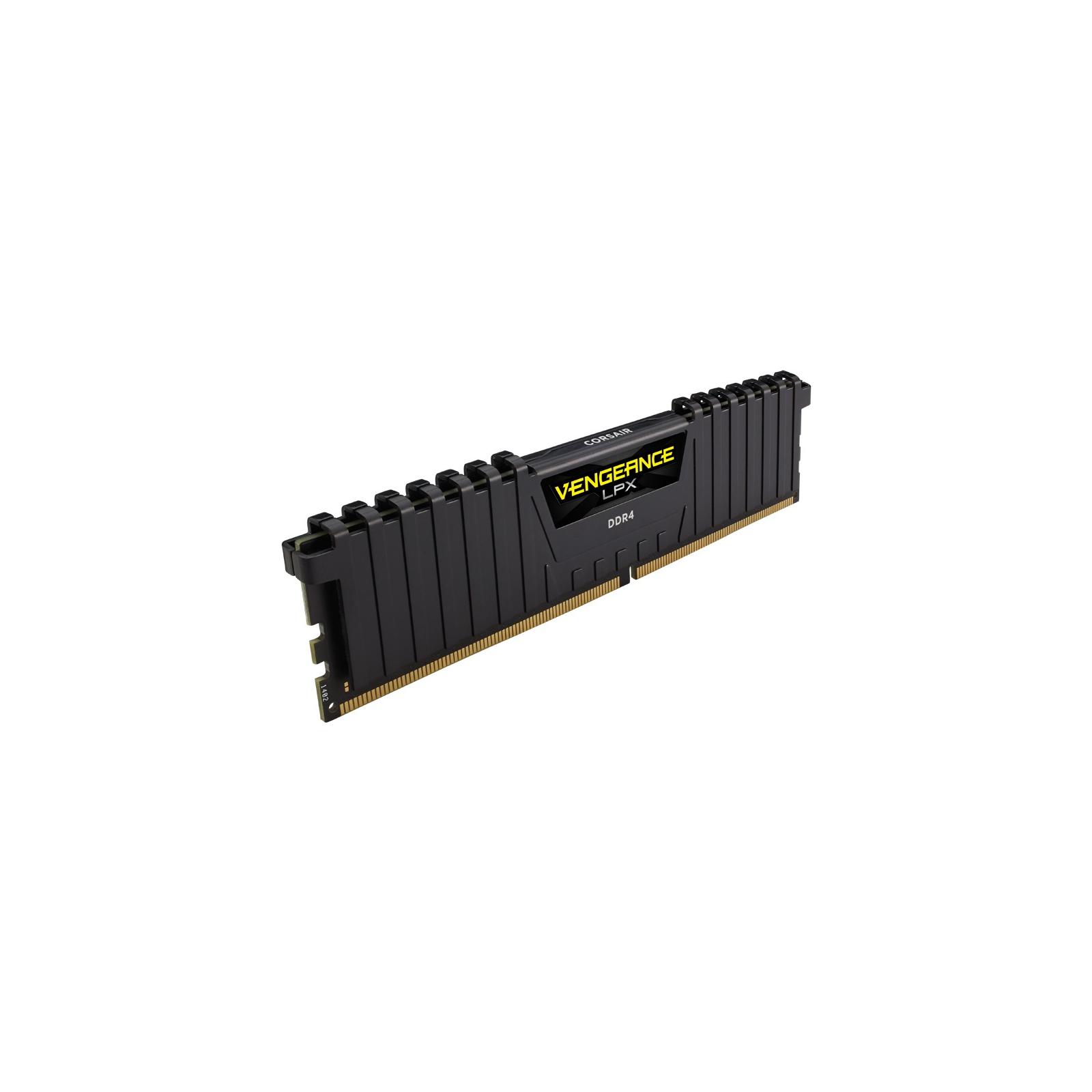 Модуль памяти для компьютера DDR4 8GB 2666 MHz Vengeance LPX Black CORSAIR (CMK8GX4M1A2666C16) изображение 3