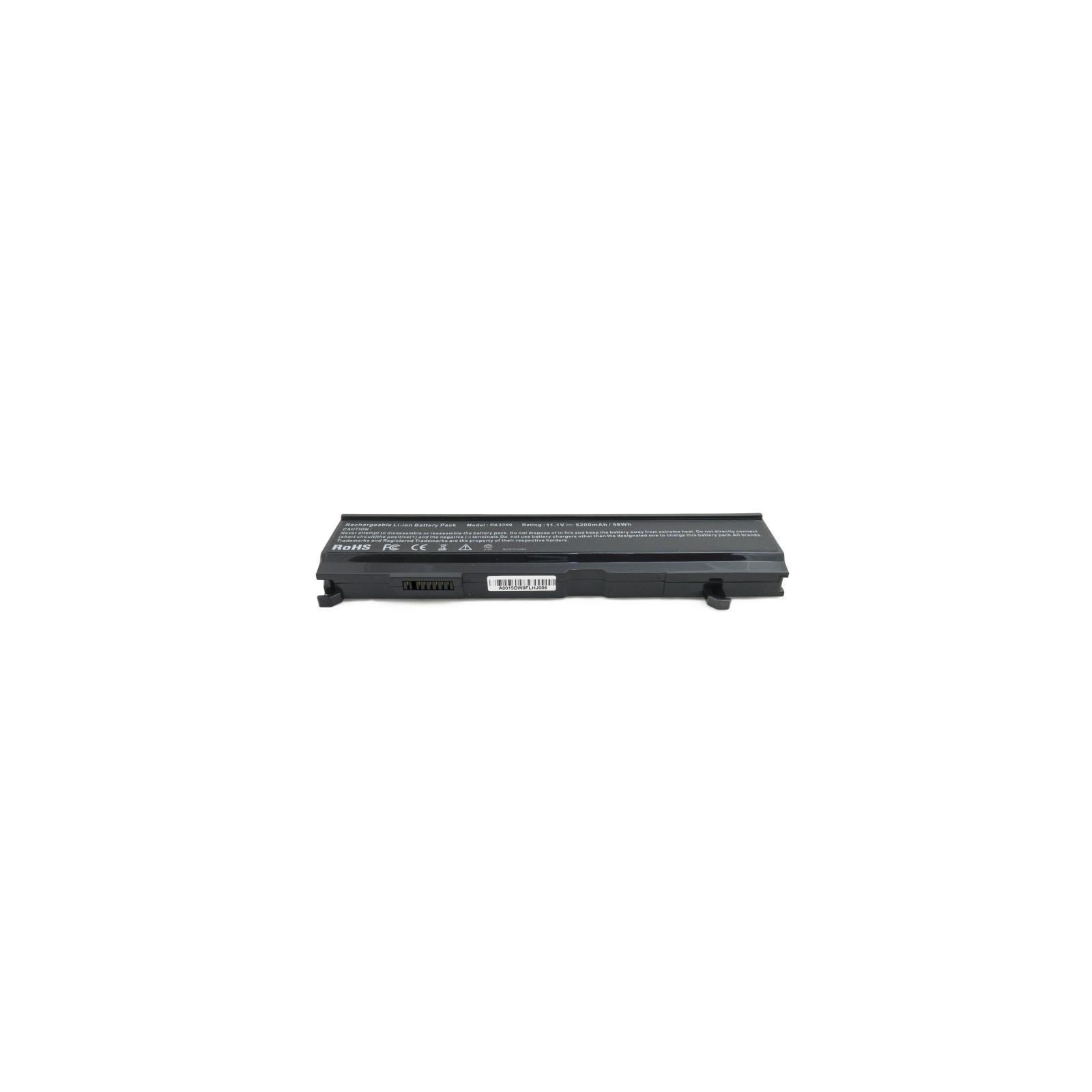 Аккумулятор для ноутбука Toshiba Satellite A80 (PA3399U) 5200 mAh EXTRADIGITAL (BNT3959) изображение 4