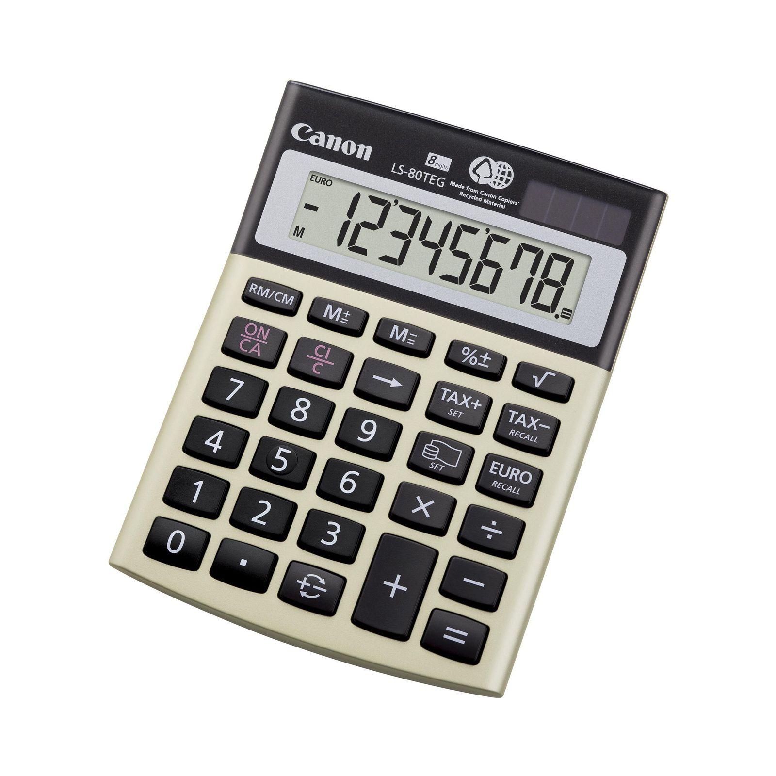 Калькулятор Canon LS-80 TEG (4423B001AA)
