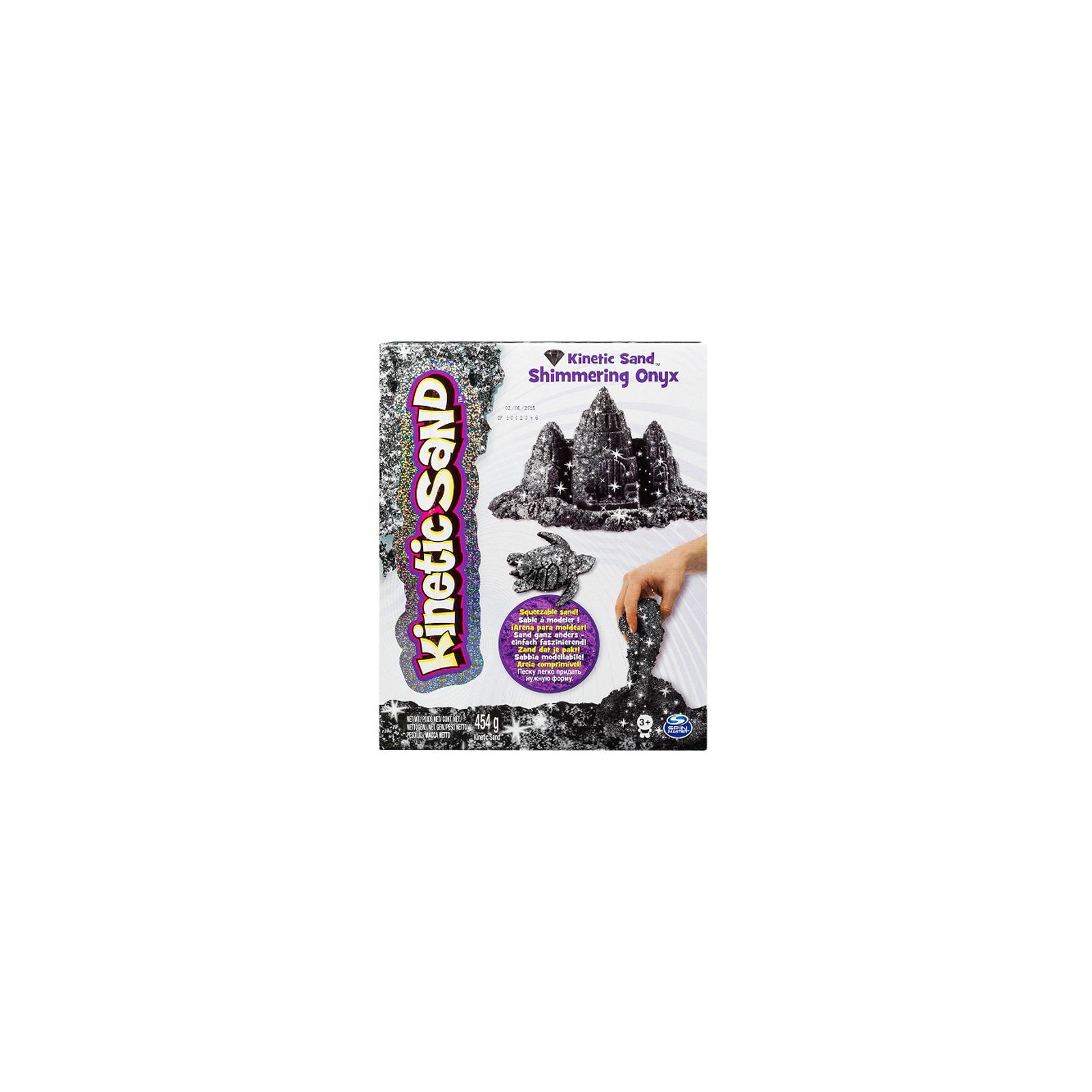Набор для творчества Wacky-Tivities Kinetic sand metallic черный (71408On)