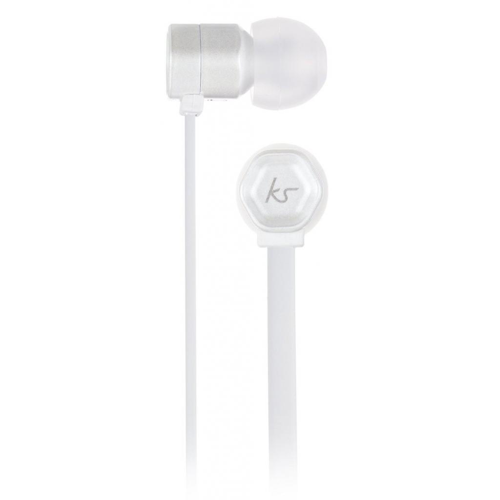 Наушники KitSound KS Hive Buds Earphones with Mic White (KSHIVBWH) изображение 3