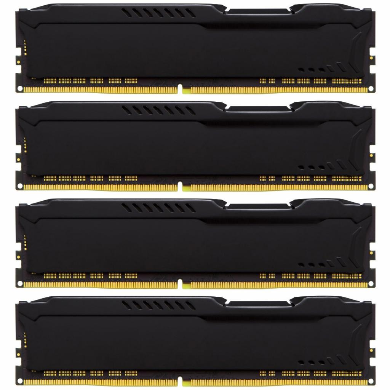Модуль памяти для компьютера DDR4 32GB (4x8GB) 2400 MHz HyperX FURY Black Kingston (HX424C15FB2K4/32) изображение 3