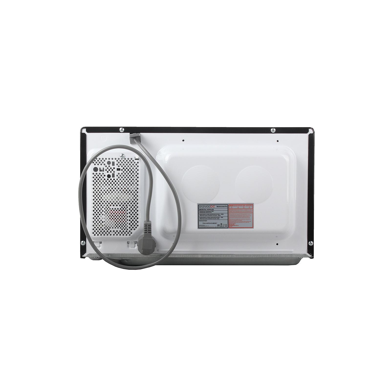 Микроволновая печь DAEWOO KQG-6L 4B (KQG-6L4B) изображение 3