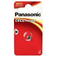 Батарейка PANASONIC SR721 * 1 Silver Oxide (SR-721EL/1B)