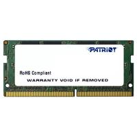 Модуль памяти для ноутбука SoDIMM DDR4 8GB 2133 MHz Patriot (PSD48G213381S)