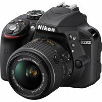 Цифровой фотоаппарат Nikon D3300 Kit 18-55 VR AF-P + 55-200VR II (VBA390K009)