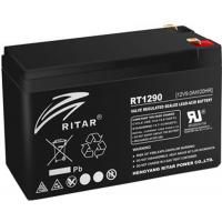 Батарея к ИБП Ritar AGM RT1290B, 12V-9Ah, Black (RT1290B)