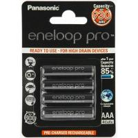 Аккумулятор PANASONIC Eneloop Pro AAA 930 mAh NI-MH * 4 (BK-4HCDE/4BE)