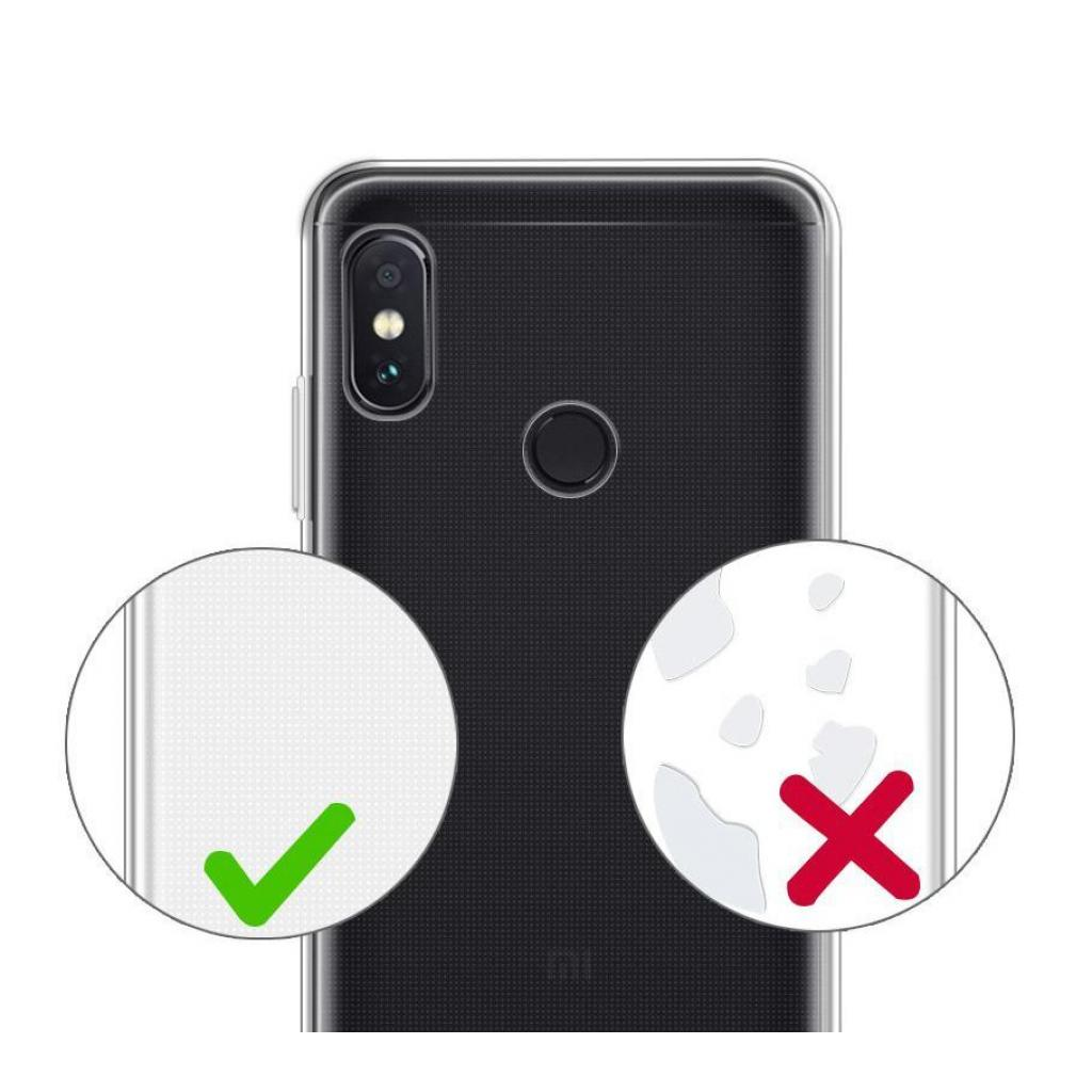 Чехол для моб. телефона Laudtec для Xiaomi Redmi Note 5 Pro Clear tpu (Transperent) (LC-XRN5P) изображение 7