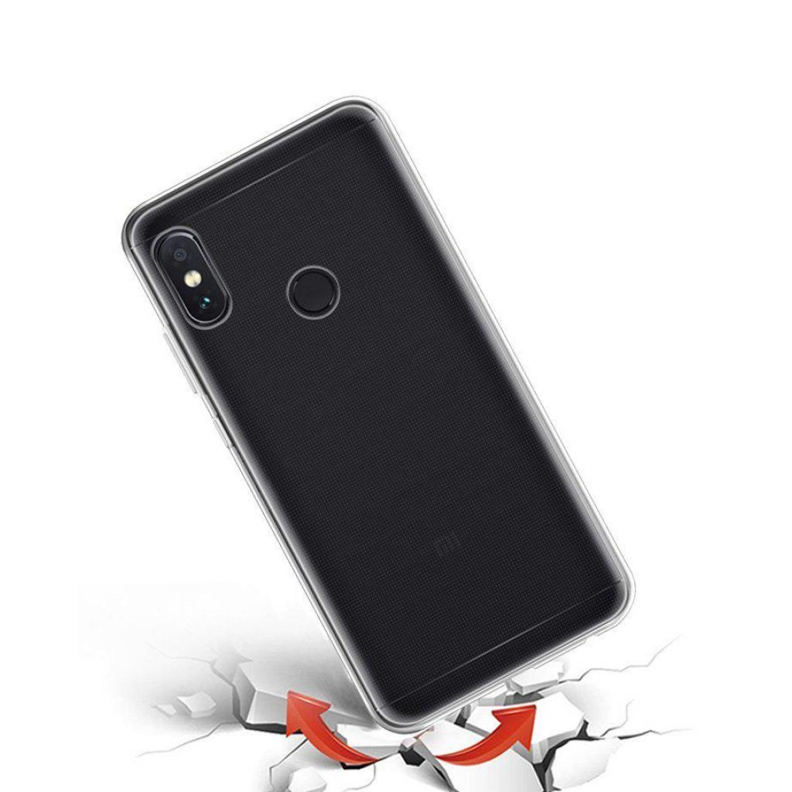 Чехол для моб. телефона Laudtec для Xiaomi Redmi Note 5 Pro Clear tpu (Transperent) (LC-XRN5P) изображение 9