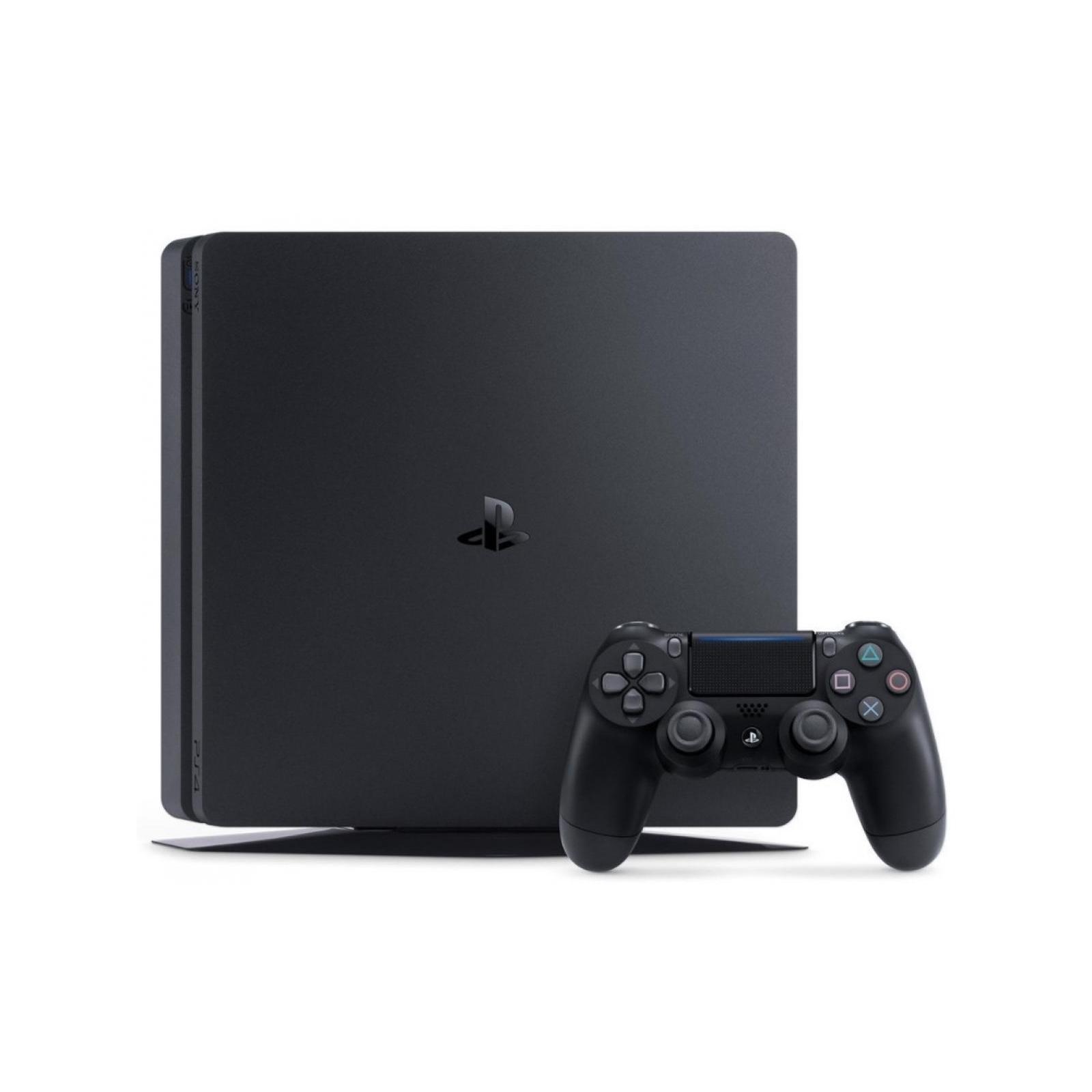 Игровая консоль SONY PlayStation 4 Slim 500 Gb Black (HZD+GTS+UC4+Wargaming+PSPl) (9395270*) изображение 2
