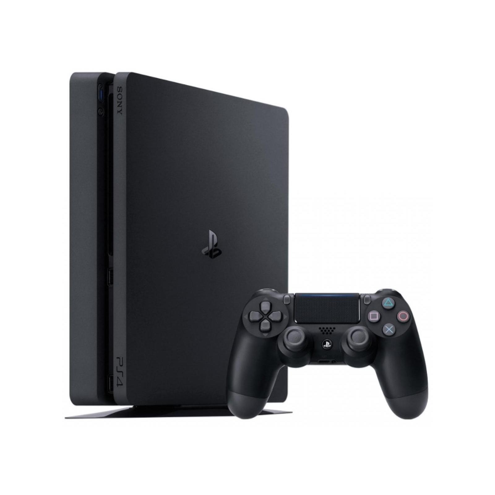 Игровая консоль SONY PlayStation 4 Slim 500 Gb Black (HZD+GTS+UC4+Wargaming+PSPl) (9395270*)