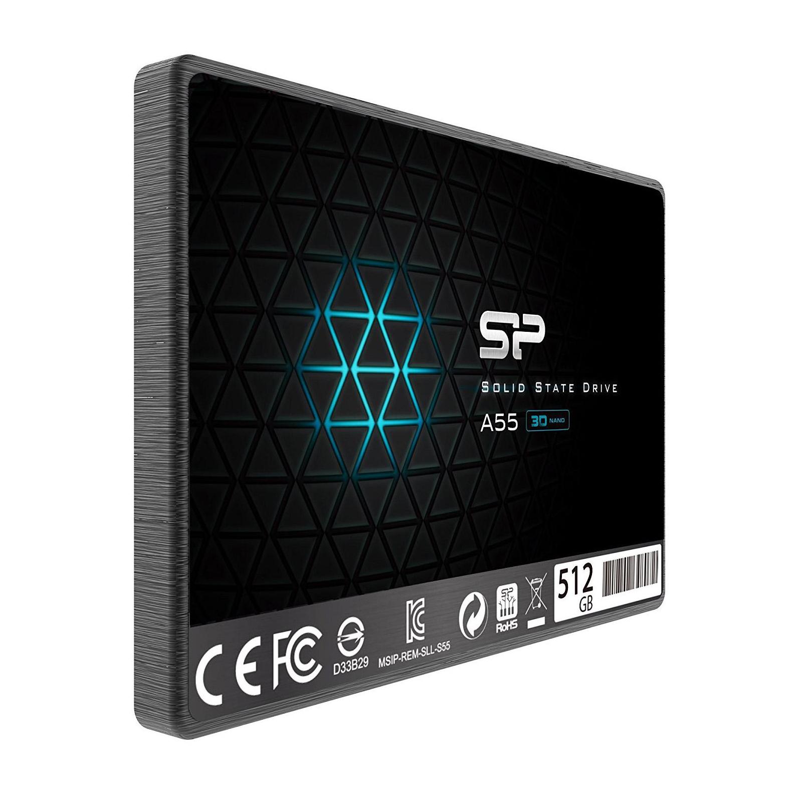 "Накопитель SSD 2.5"" 512GB Silicon Power (SP512GBSS3A55S25) изображение 2"