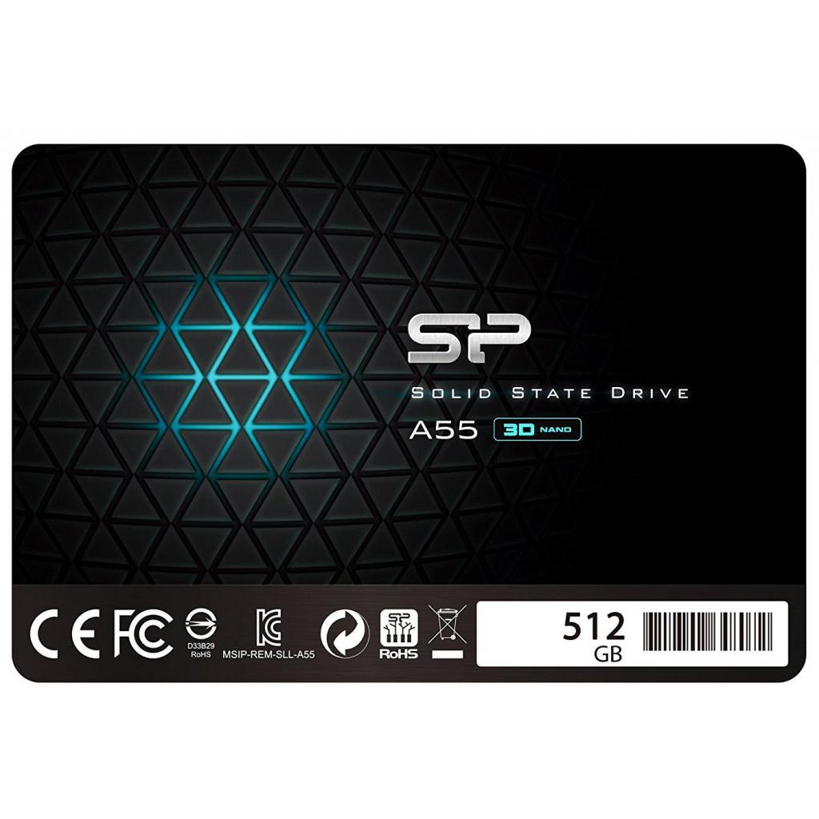 "Накопитель SSD 2.5"" 512GB Silicon Power (SP512GBSS3A55S25)"