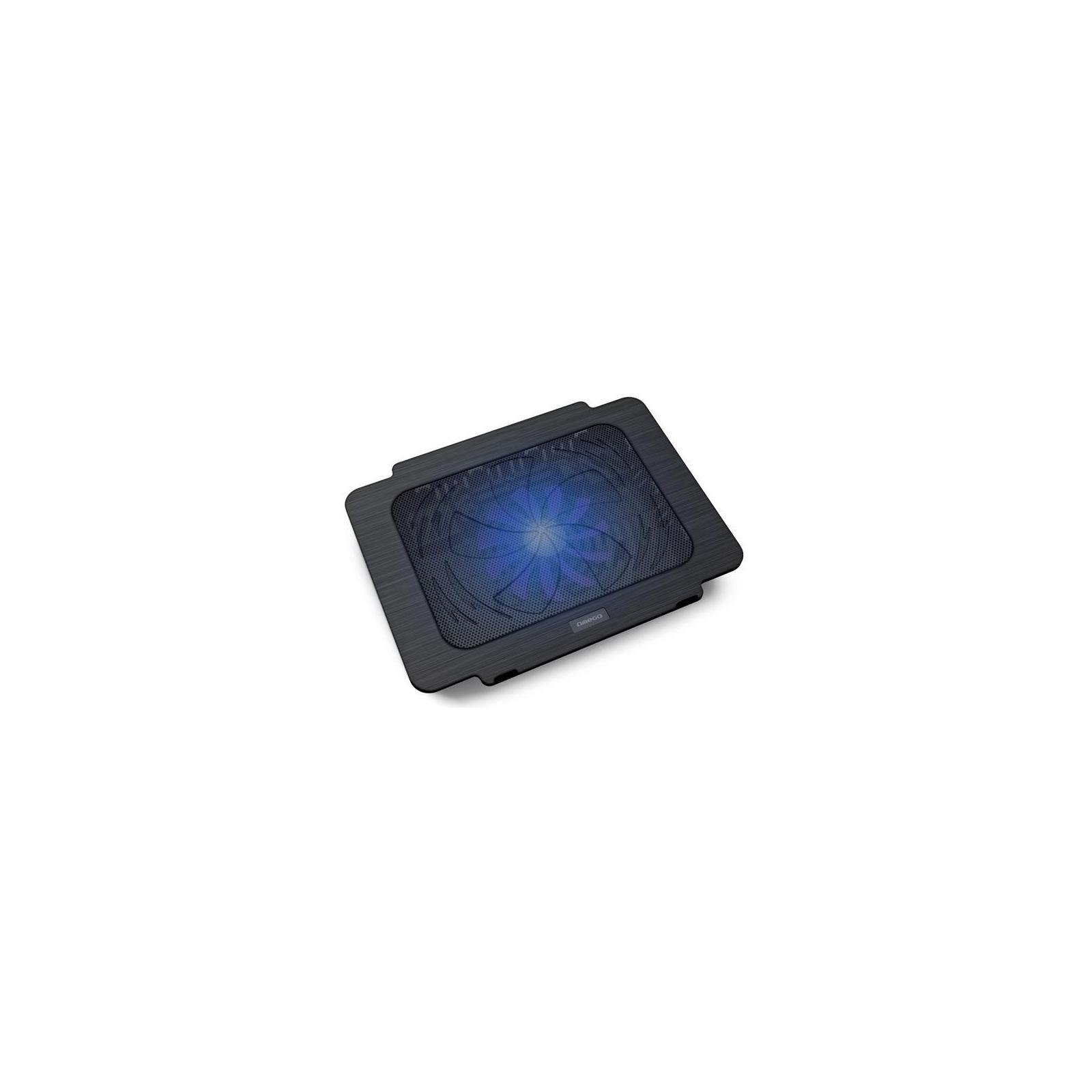 Подставка для ноутбука OMEGA Laptop Cooler pad BREEZE black fan USB (OMNCPK16)
