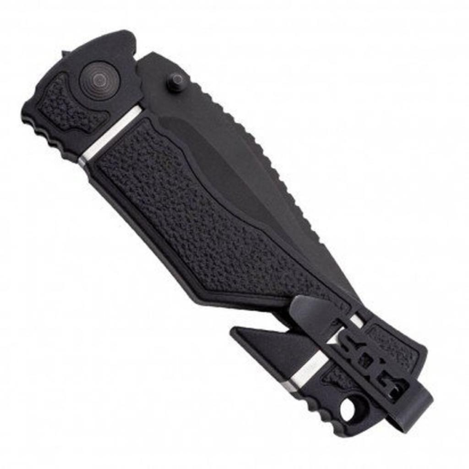 Нож SOG Trident Elite Black Blade Serrated (TF106-BX) изображение 4