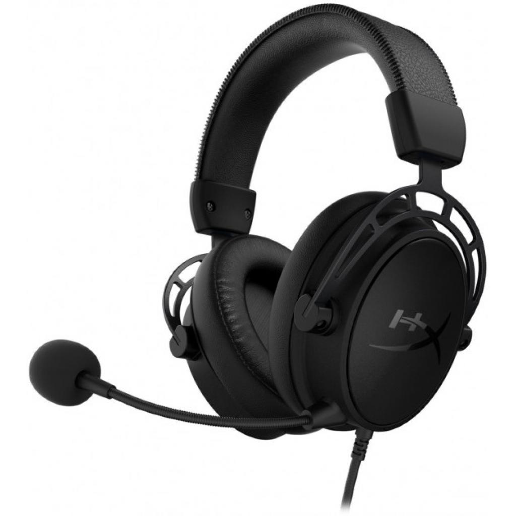Навушники HyperX Cloud Alpha S Blackout (HX-HSCAS-BK/WW) зображення 2