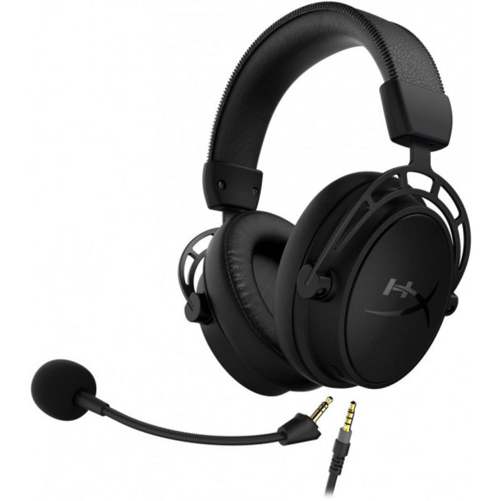 Навушники HyperX Cloud Alpha S Blackout (HX-HSCAS-BK/WW) зображення 6