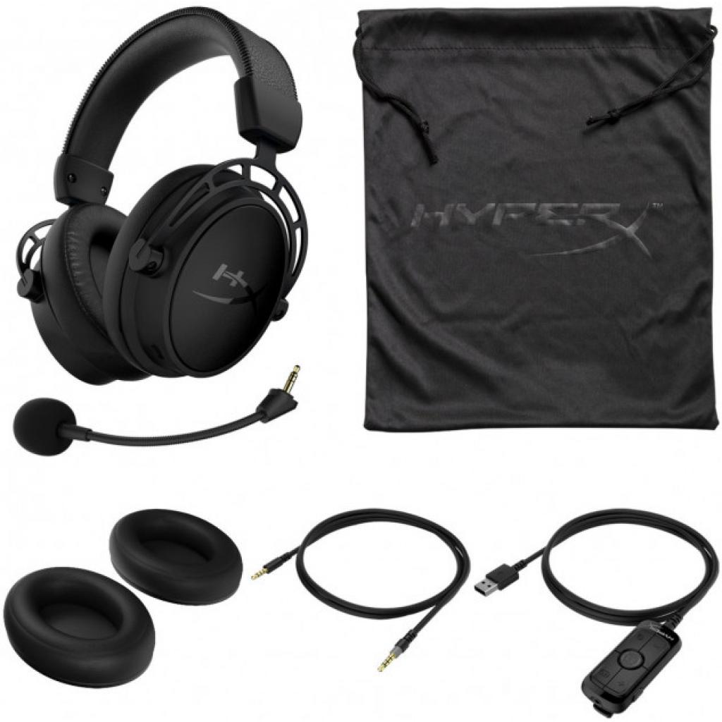 Навушники HyperX Cloud Alpha S Blackout (HX-HSCAS-BK/WW) зображення 7