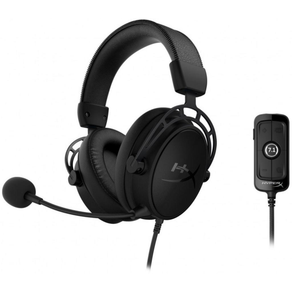 Навушники HyperX Cloud Alpha S Blackout (HX-HSCAS-BK/WW)