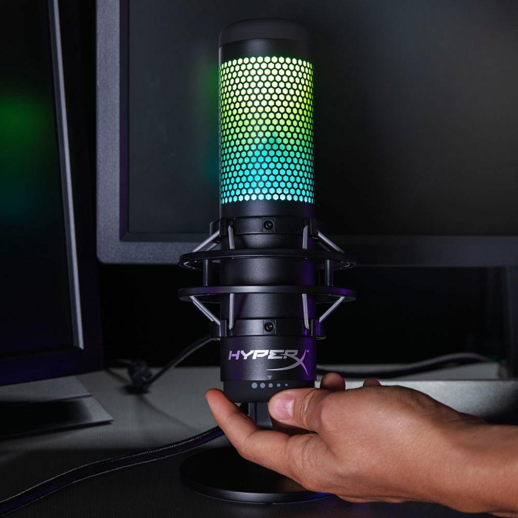 Мікрофон HyperX QuadCast S (HMIQ1S-XX-RG/G) зображення 11