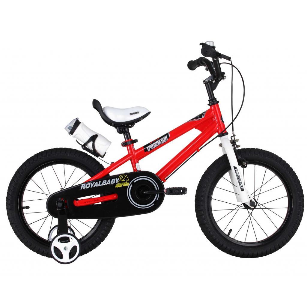 """Детский велосипед Royal Baby Freestyle 16"""", Official UA, красный (RB16B-6-RED)"""
