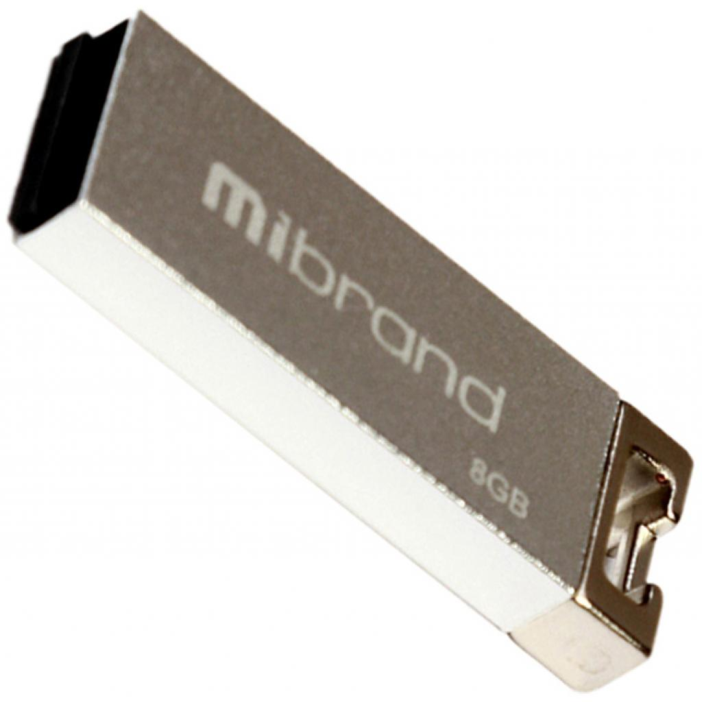 USB флеш накопитель Mibrand 64GB Сhameleon Silver USB 2.0 (MI2.0/CH64U6S)