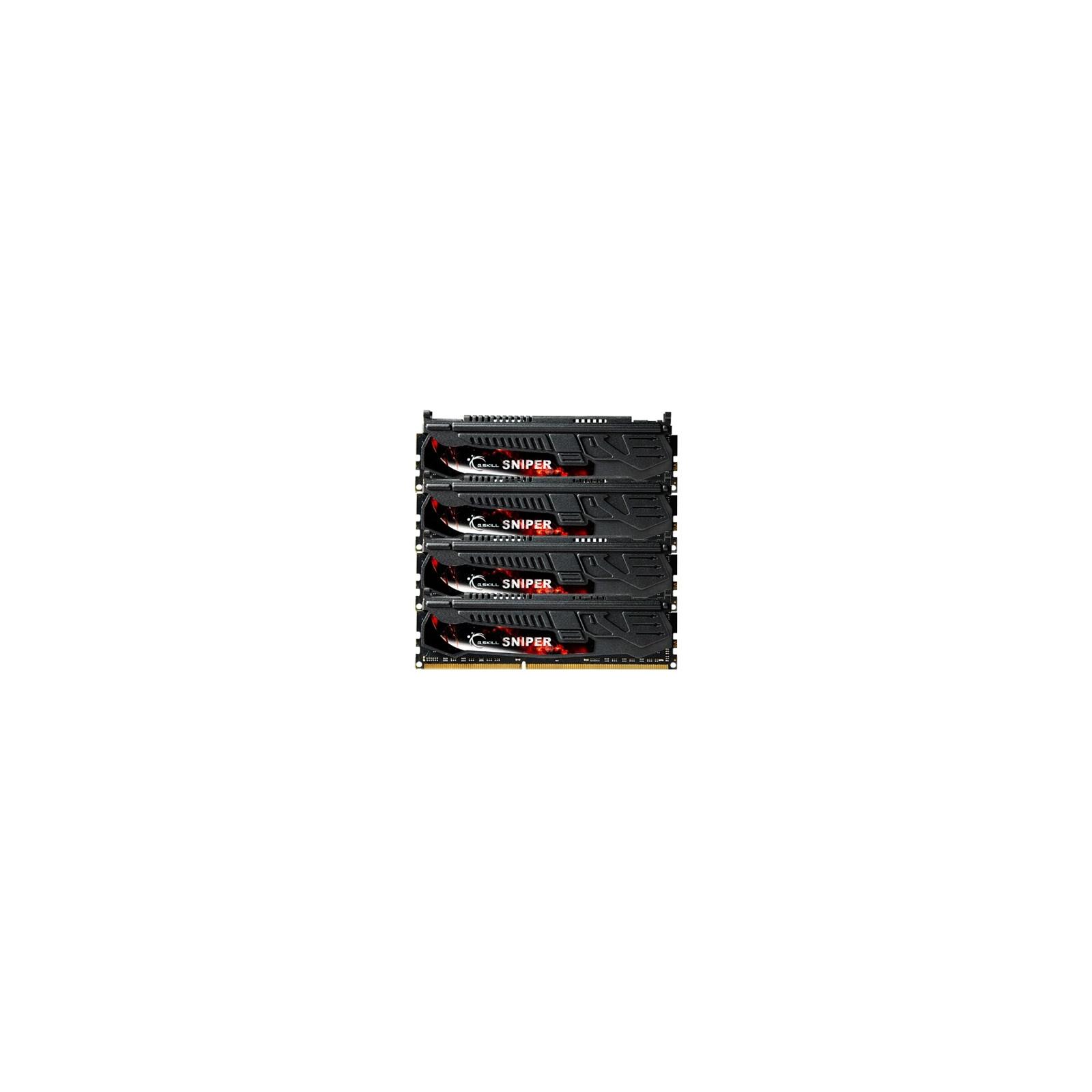 Модуль памяти для компьютера DDR3 32GB (4x8GB) 1866 MHz G.Skill (F3-1866C10Q-32GSR)