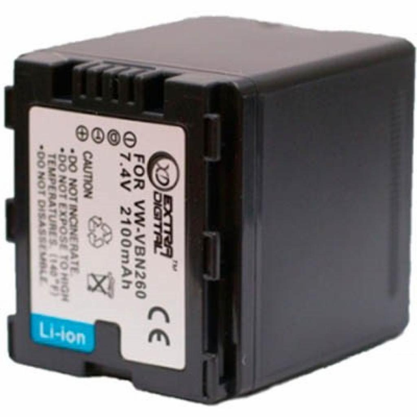 Аккумулятор к фото/видео EXTRADIGITAL Panasonic VW-VBN260 (DV00DV1362)