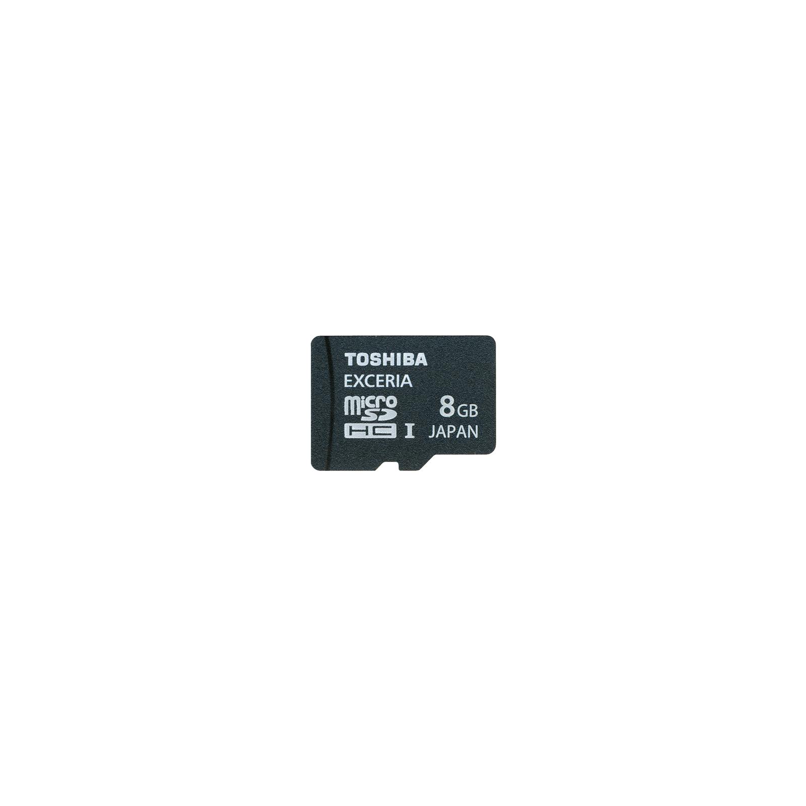 Карта памяти TOSHIBA 8Gb microSDHC UHS-I class 10 (SD-CX08HD(BL7)
