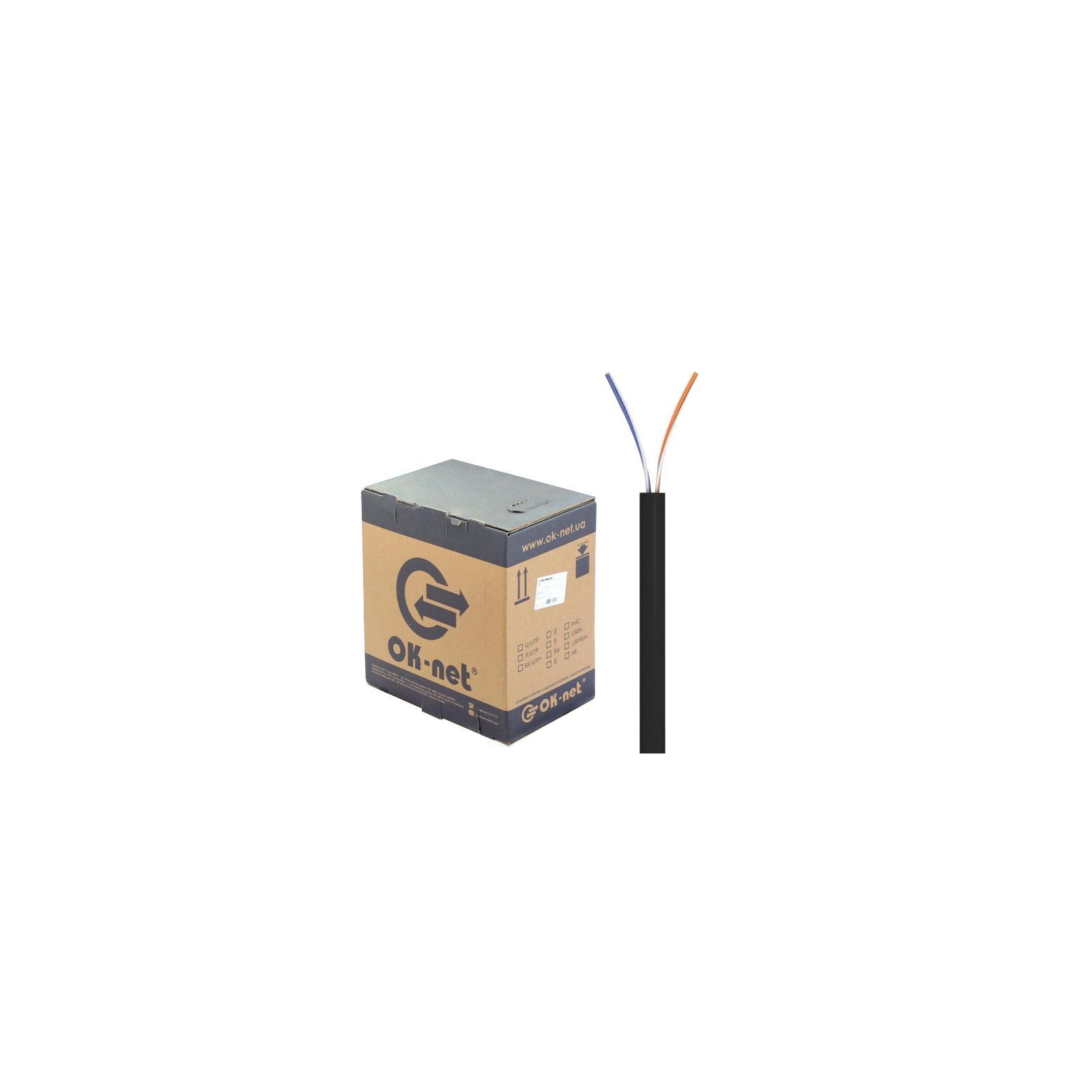 Кабель сетевой OK-Net UTP 305м 2 пары (КПП-ВП (100) 2х2х0,50)
