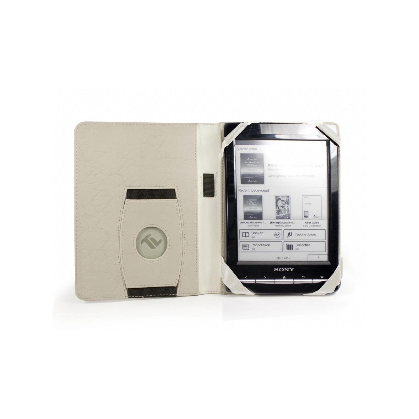 Чехол для электронной книги Tuff-Luv 6 Embrace faux leather/Arctic White (C4_56) изображение 2