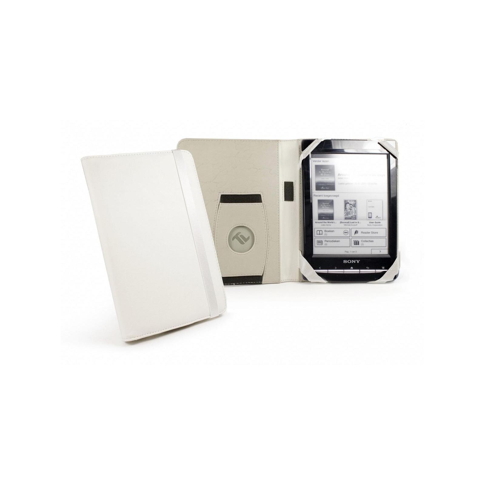 Чехол для электронной книги Tuff-Luv 6 Embrace faux leather/Arctic White (C4_56) изображение 3