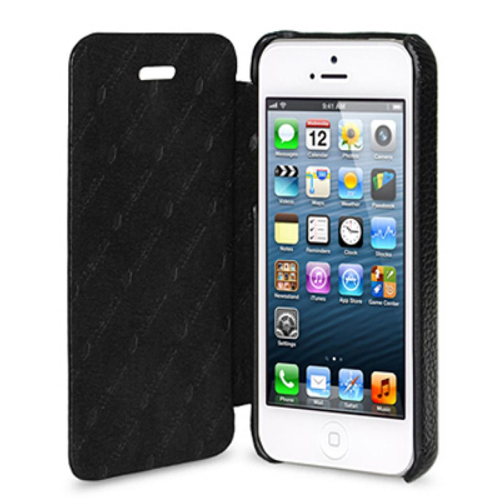 Чехол для моб. телефона Melkco для Apple iPhone 5 Book Type black (APIPO5LCFB2BKLC) изображение 3