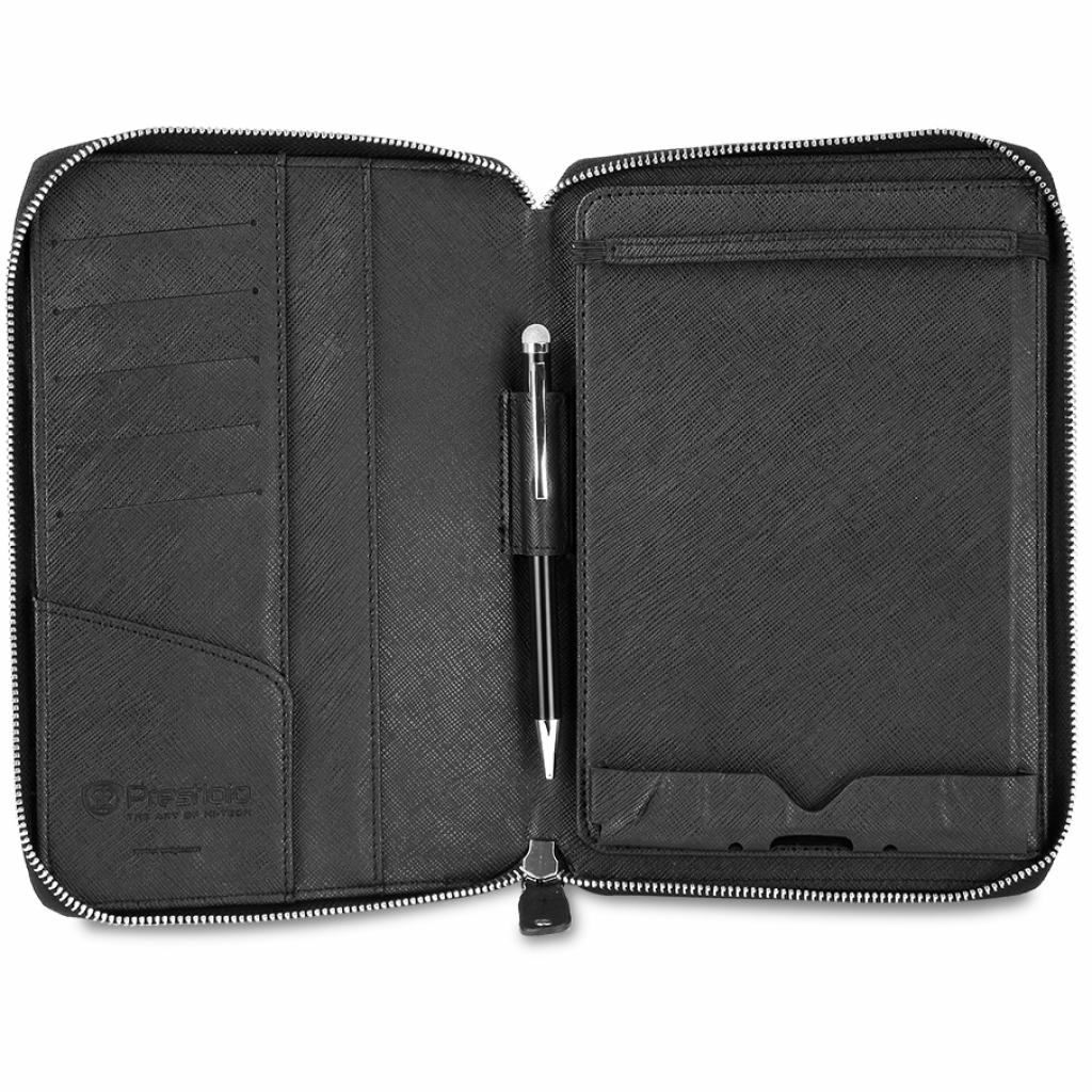 "Чехол для планшета PRESTIGIO 7"" Universal BLACK zipper+pocket (PTCL0107BK) изображение 2"