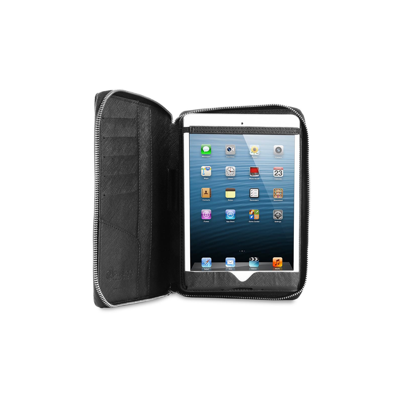 "Чехол для планшета PRESTIGIO 7"" Universal BLACK zipper+pocket (PTCL0107BK) изображение 5"