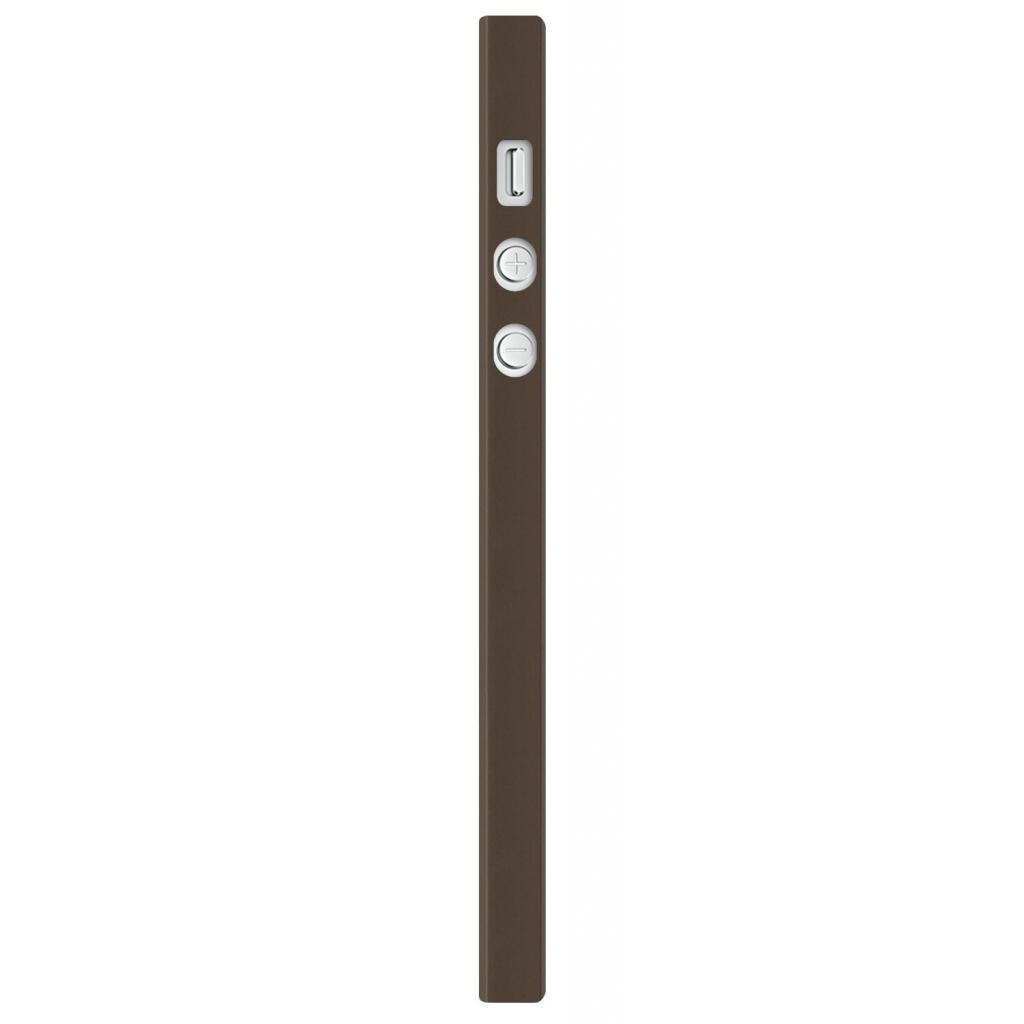 Чехол для моб. телефона OZAKI iPhone 5/5S O!coat 0.3+ Wood ultra slim Walnut (OC545WT) изображение 2