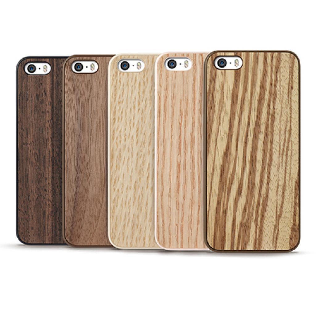 Чехол для моб. телефона OZAKI iPhone 5/5S O!coat 0.3+ Wood ultra slim Walnut (OC545WT) изображение 4