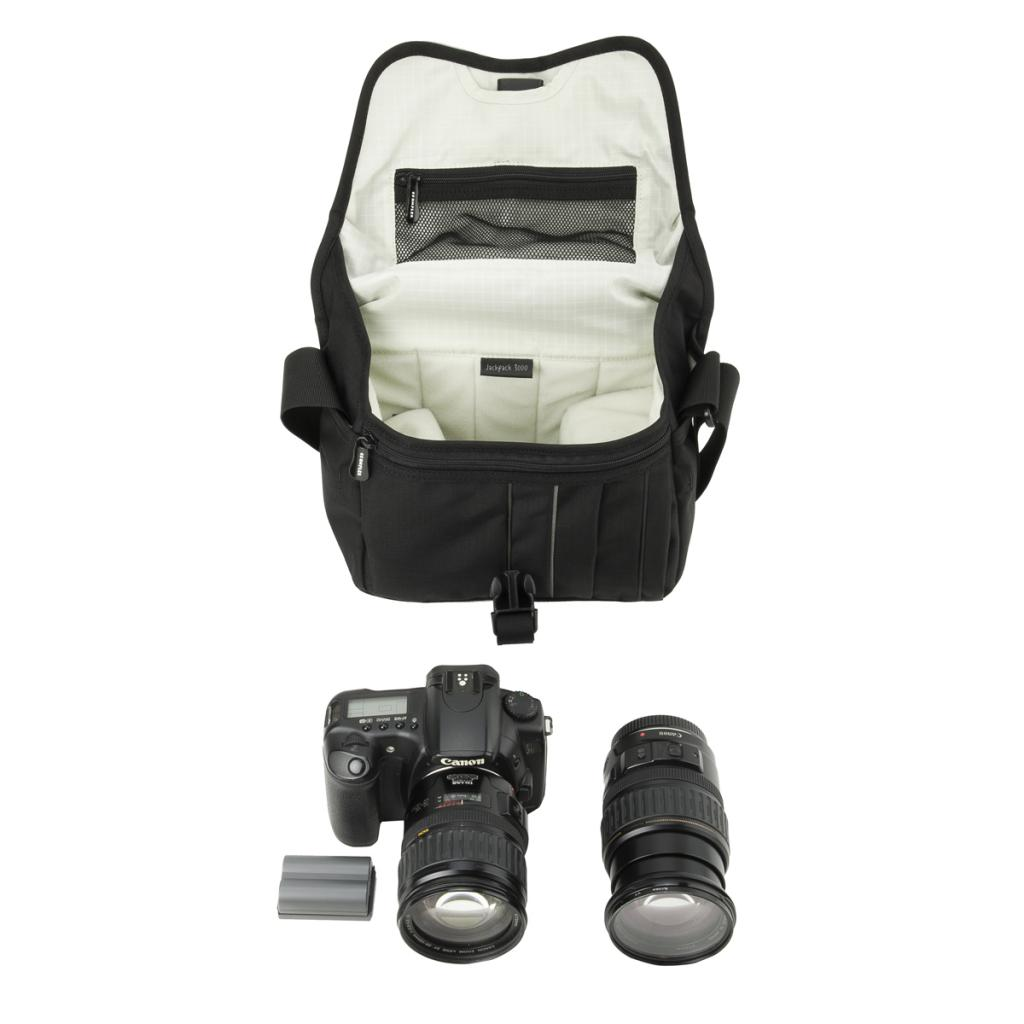 Фото-сумка Crumpler Jackpack 9000 (dull black / dk. mouse grey)+15`NB (JP9000-001) изображение 3