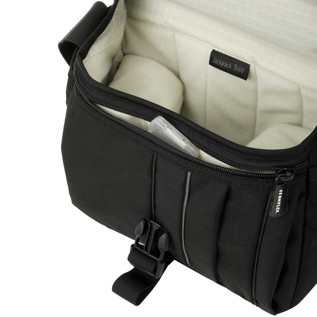 Фото-сумка Crumpler Jackpack 9000 (dull black / dk. mouse grey)+15`NB (JP9000-001) изображение 4
