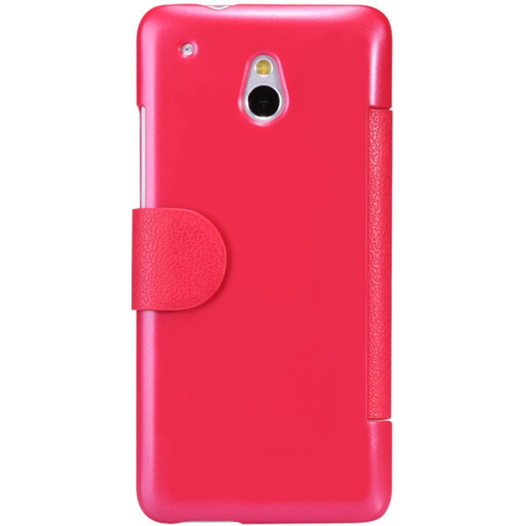 Чехол для моб. телефона NILLKIN для HTC ONE mini/M4- Fresh/ Leather/Red (6076843) изображение 2