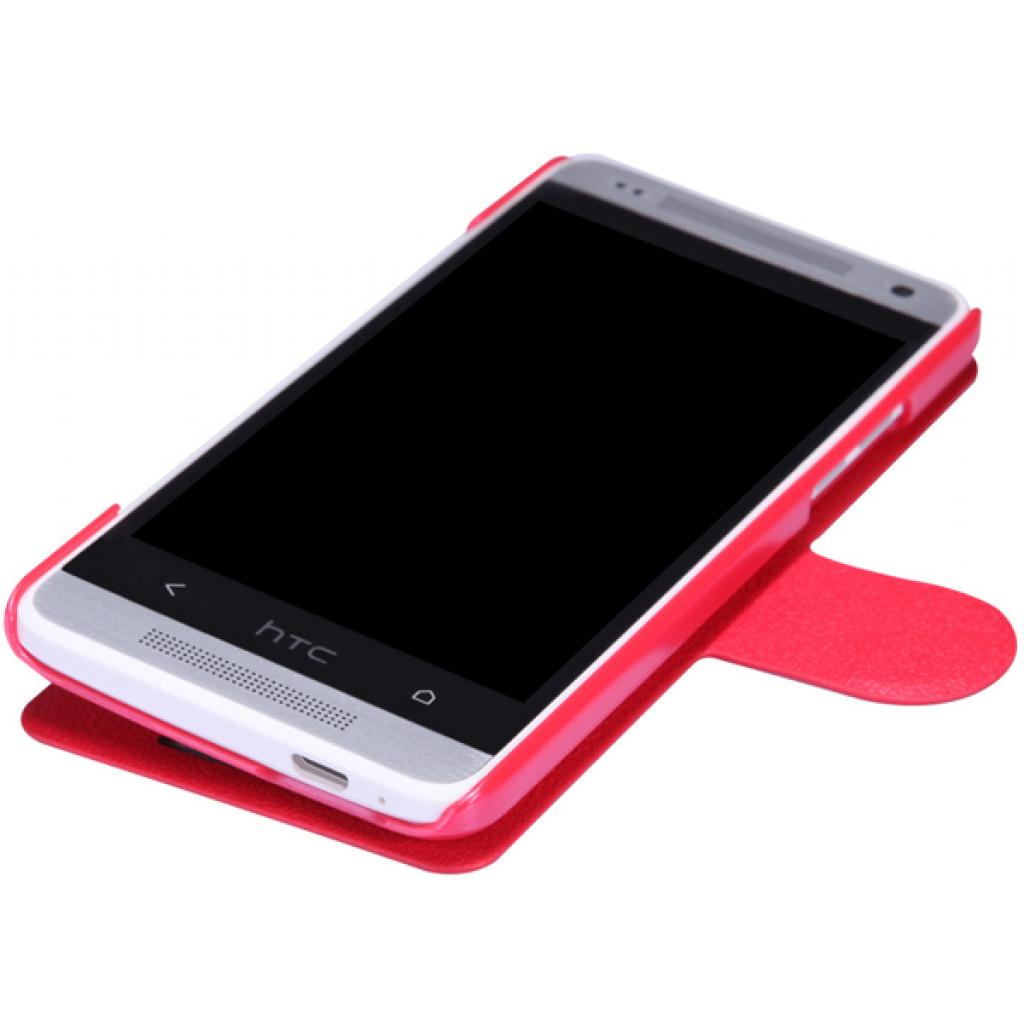 Чехол для моб. телефона NILLKIN для HTC ONE mini/M4- Fresh/ Leather/Red (6076843) изображение 3
