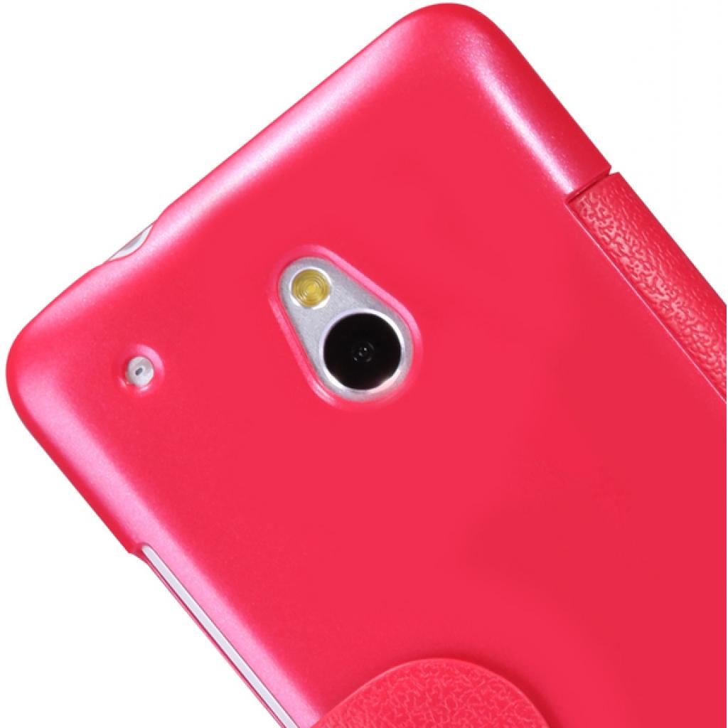 Чехол для моб. телефона NILLKIN для HTC ONE mini/M4- Fresh/ Leather/Red (6076843) изображение 4