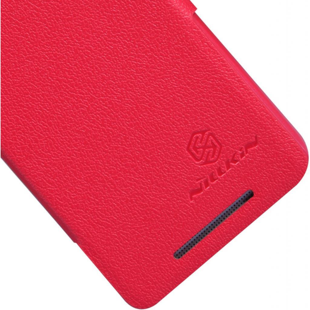 Чехол для моб. телефона NILLKIN для HTC ONE mini/M4- Fresh/ Leather/Red (6076843) изображение 5